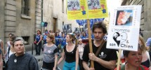 Marche Europeenne contre la vivisection