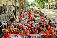Marche internationale contre les abattoirs