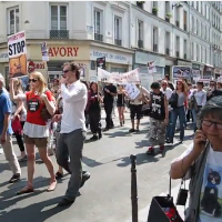 Grande MARCHE EUROPEENNE CONTRE LA VIVISECTION