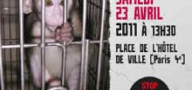 Marche Europeenne contre la vivisection du 23.04.11 Paris