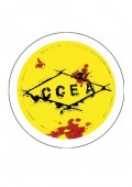 Badge cce²a jaune